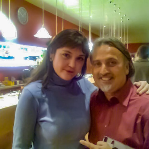 Con Irina Kulikova en Holanda1