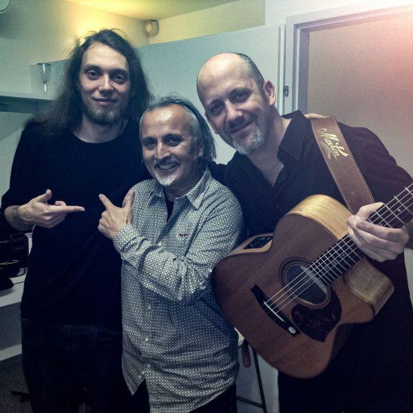 Con Mike Dawes y Adam Rafferty, Viena 2013 _1_1
