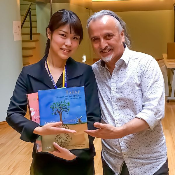 Tokio 2017 Con Yukiyo Takahashi, gran directora y orquestadora1